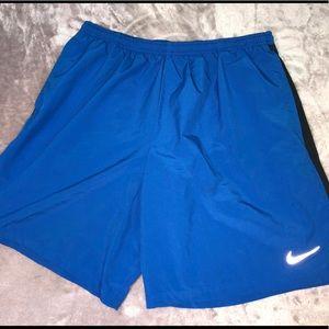 Blue Nike Athletic Shorts